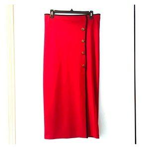 4/25🎈Long Red Skirt